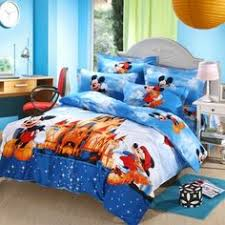 Mickey Mouse Queen Size Bedding Mickey And Minnie Mouse Bedding King Queen Size 4pcs Bedding Sets