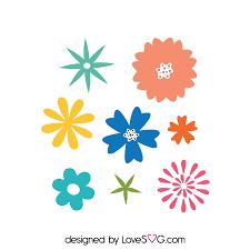 free flowers flowers set lovesvg