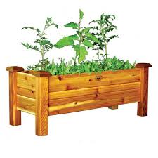 Western Red Cedar Outdoor Furniture by Western Red Cedar Planter Boxes At Wayside Gardens