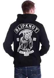 slipknot goat reaper hoodie official nu metal merchandise