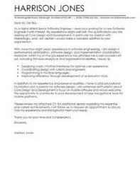 cover letter resume software engineer