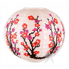 Cherry Decorations For Home by Accessories Fantastic Paper Lantern With Lovely Cherry Blossom