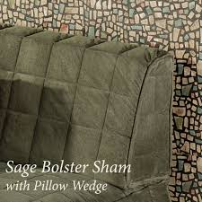Bolster Cushion Pad Camden Bolster Sham With Pillow Wedge Touch Of Class