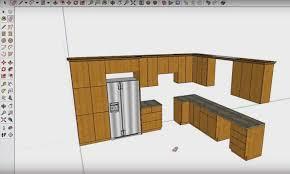 faire une cuisine en 3d exemple du travail réalisé avec le logiciel de cuisine fusion 3d