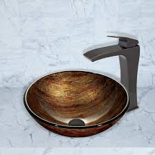 Vigo Bathroom Vanity by Vigo Industries Vg03018 Single Lever Cast Spout Bathroom Sink