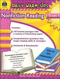 daily warm ups nonfiction reading grade 5 025525 details