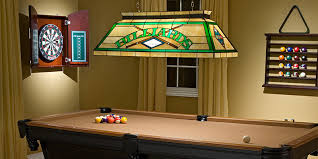 pool table light size pool table light brass bar with 4 green shades free delivery