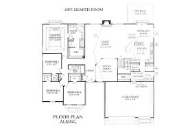 custom homes floor plans whalen custom homes alsing 3 bedroom st louis ranch floor plan
