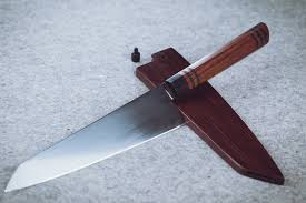 japanese style kitchen knives japanese style chef knife in aeb l steel and rosewood handle