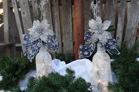 Bottle Decoration For Christmas by 20 Wine Bottle Christmas Crafts To Go For A Festive Decor Blended