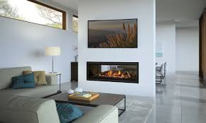 new see through landscape gas fireplace launched in nz