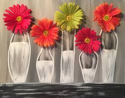 most popular flowers most popular party arty paint parties
