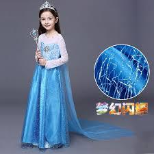Elsa Halloween Costume Girls Cheap Elsa Halloween Costume Girls Aliexpress