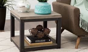 Decorate A Sofa Table How To Decorate With A Large End Table Overstock Com