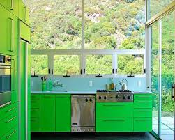 Environmentally Friendly Kitchen Cabinets Fresh Feel For Green Kitchen Decor Ideas With Lime Picture Small