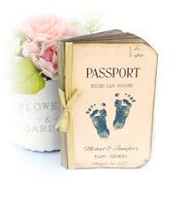 custom baby shower guest book advice for mom and dad