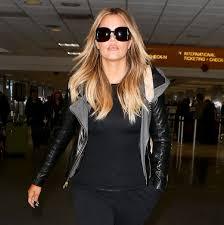 wow khloe kardashian debuted much lighter locks while walking