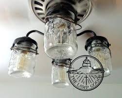 hunter mason jar ceiling fan farmhouse ceiling fan with light tirecheckapp com