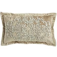 Cushions Velvet Romantic Glam Beaded Velvet Lumbar Pillow Pier 1 Imports
