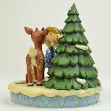 Jim Shore Christmas Tree Ornaments by Jim Shore Figurine Rudolph The Red Nosed Reindeer Traditions Hermey