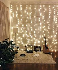 lights on wall with pictures living room string lights a hobby nook in the is accented with whole