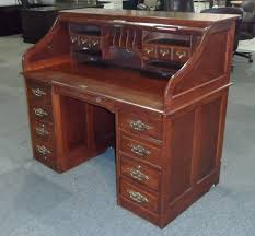 vintage wood desk roll top desk for the new home office u2014 the decoras jchansdesigns