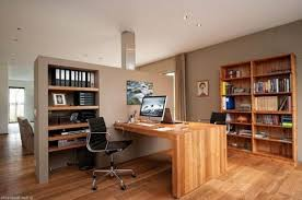 Space Saving Home Office Desk Great Examples Of Home Offices For Two Apartment Therapy Stylish