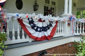 Patriotic Home Decorations 4th Of July Porch Decorating Ideas