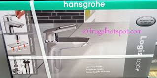 hansgrohe kitchen faucet costco costco sale hansgrohe logis loop chrome bath faucet 59 99