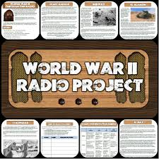 battles of world war ii radio show project cooperative learning