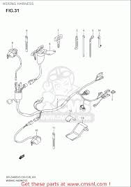 suzuki drz400e 2005 2006 k5 k6 usa e03 wiring harness