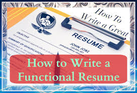 how to write an online resume how to write a resume writing a functional resume youtube