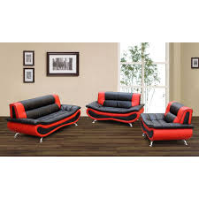 5 piece living room set red and black living room set nana u0027s workshop