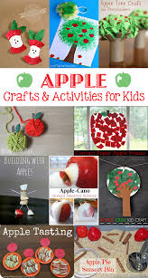 autumn apple craft ideas for kids roundup u2022 the inspired home
