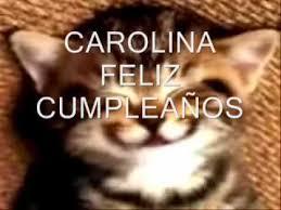 imagenes de feliz cumpleaños carito feliz cumpleaños carolina youtube