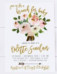 brunch invites baby shower brunch invitations baby shower brunch invitations in