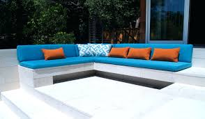 piped cushion cushions for bench seat windows making cushions for