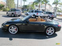 porsche 911 olive green 2006 dark olive metallic porsche 911 carrera s cabriolet 60907353