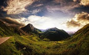 daily wallpaper beautiful old mountains of swiss alps i like to