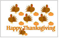 thanksgiving printables and paper crafts