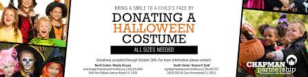 Halloween Costumes Donate Halloween Costume Chapman Partnership