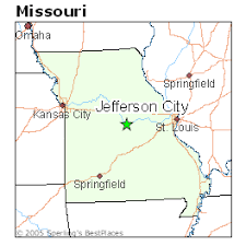 missouri map cities best places to live in jefferson city missouri