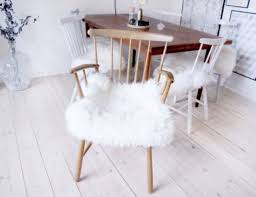 ikea covers diy ikea sheep skin hack into chair covers shelterness