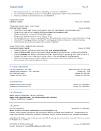 Resume Samples With Bullet Points by Resume Bullet Points Examples Template