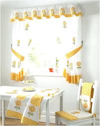 window treatment ideas for kitchen outstanding modern kitchen curtains home designs bay ideas modern