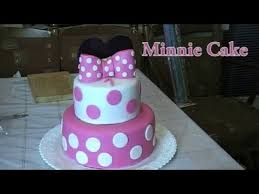 minnie mouse cake minnie mouse cake tutorial