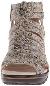 amazon com jambu women u0027s sugar floral wedge sandal platforms