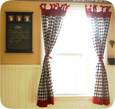 Red Kitchen Curtain by Red Swag Kitchen Curtains The Best Red Kitchen Curtains U2013 Home