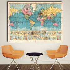 Canvas Map Of The World by Compare Prices On World Map Letters Canvas Online Shopping Buy