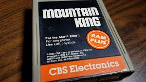 classic game room mountain king review for atari 2600 youtube